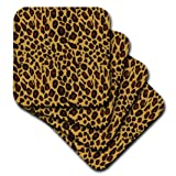3dRose cst_164680_1 Chic Earthy Gold Leopard
