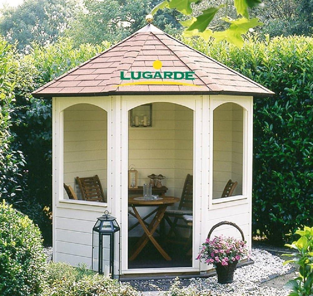 Lugarde Andrea - Cenador de madera de abeto con techo ...