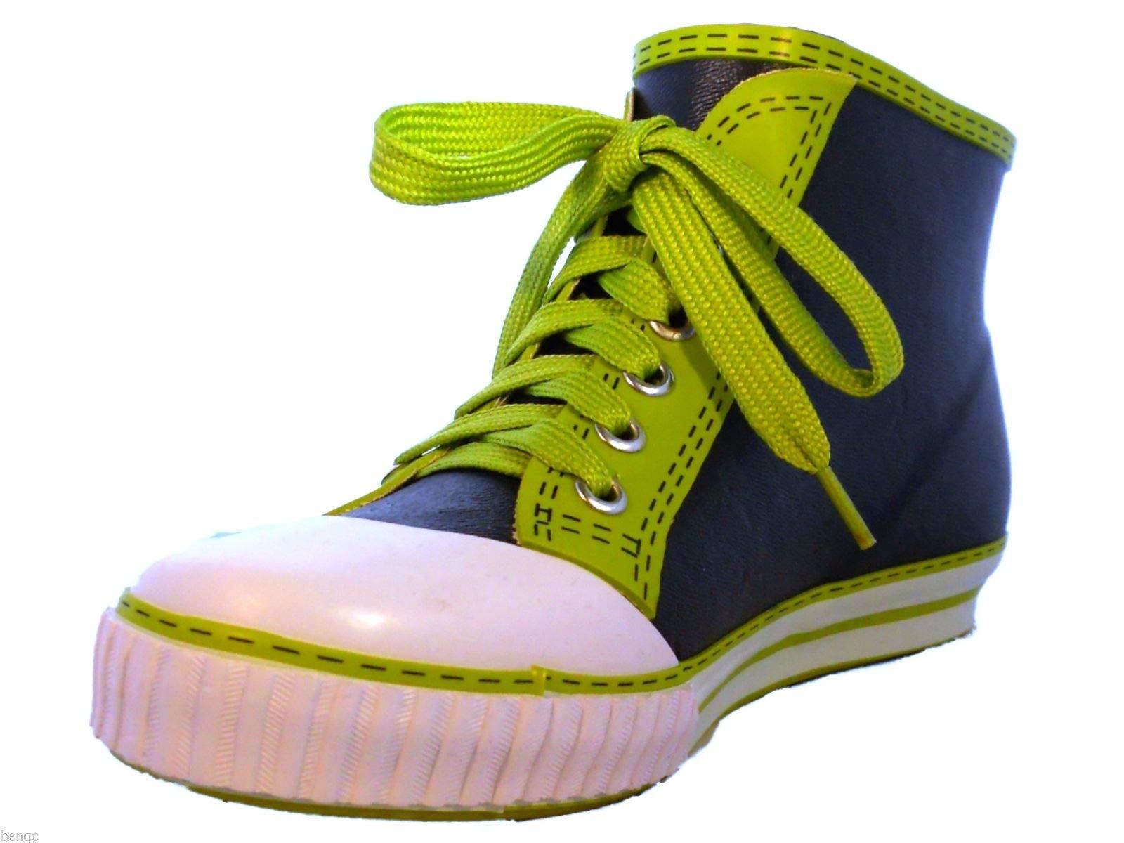 BengC Sneaker Style UNISEX Rain Boots Waterproof Slip On Shoes FITS LARGE