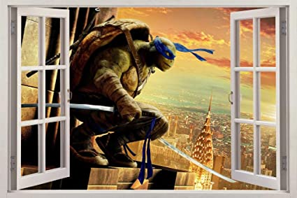 Amazon.com: Raphael Ninja Turtles Out Of The Shadows Window ...