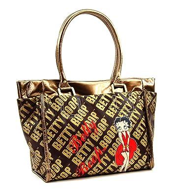 2da5ac7cbe66 Amazon.com  Betty Boop Premium Handbag