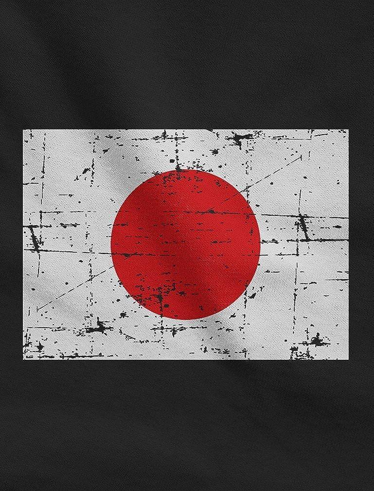 Vintage Japan Flag Retro Style Singlet TeeStars