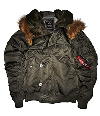 b2690943ab29 Alpha Industries Herren Winterjacken N2B  Amazon.de  Bekleidung