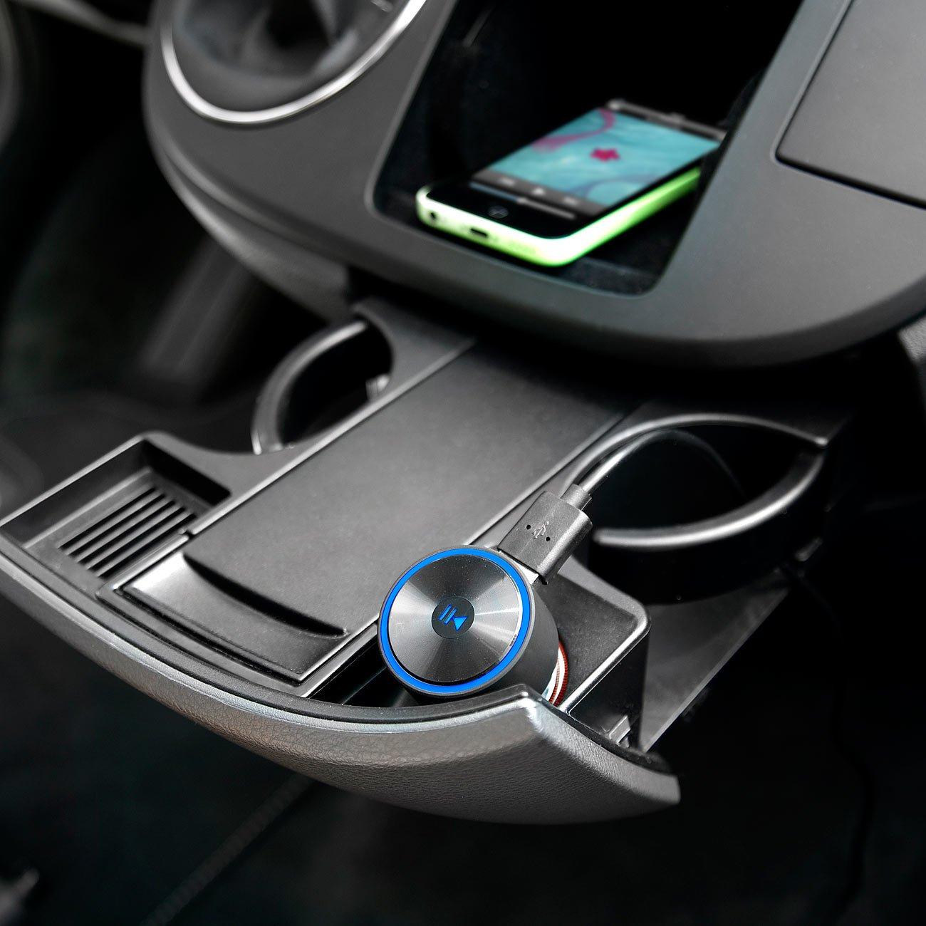 auvisio Auto Bluetooth: Kfz-FM-Transmitter FMX-520.BT mit ...