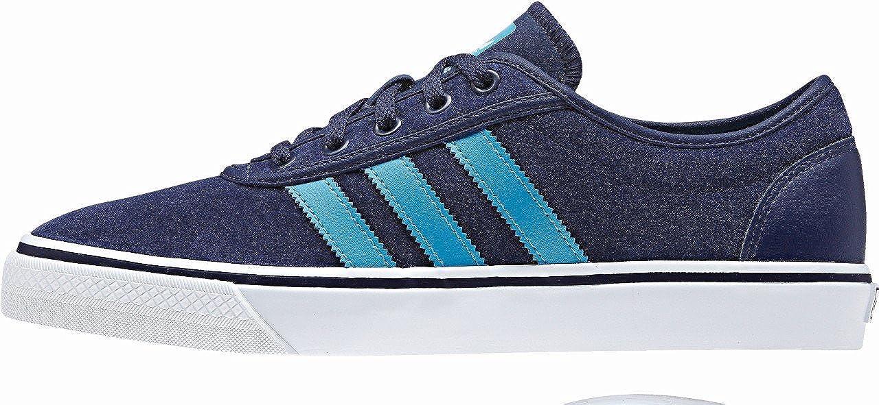 Adidas Originals ADI ADI ADI Ease Turnschuhe Skater Schuhe Leder blau 083f0b