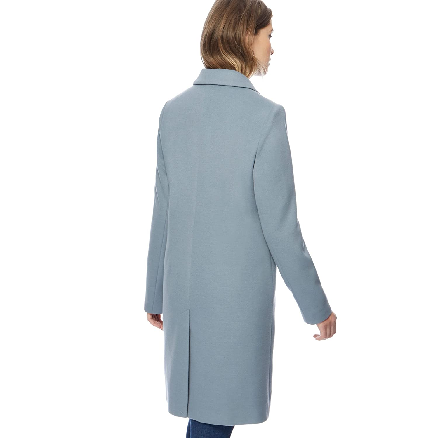 Debenhams The Collection Pale Blue Smart City Coat: The Collection ...