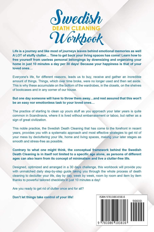 Swedish Death Cleaning Workbook The 20 Days Challenge to Organize ...