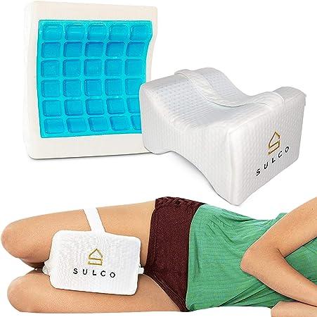 Knee Pillow | Memory Foam Leg Cushion