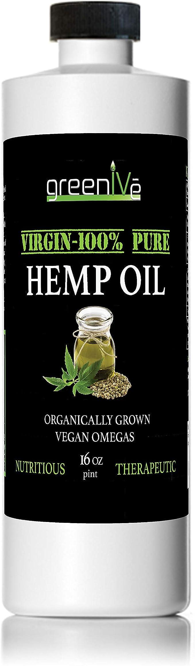 GreenIVe Vegan Hemp Oil