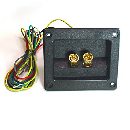 amazon 2 way 4 ohm crossover on a 3 11 16 x3 1 8 terminal cup 4 Switch Wiring 2 way 4 ohm crossover on a 3 11 16 quot x3 1