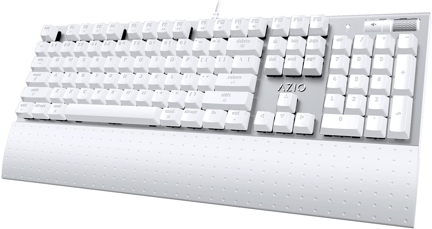 Azio USB Mechanical Backlit Keyboard for Mac (Brown K-Switch)
