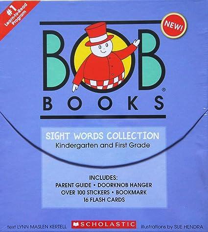 Amazoncom Bob Books Sight Words Collection Book Box Set