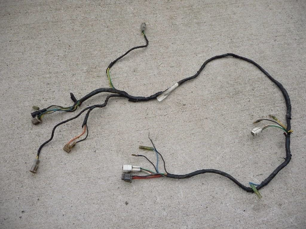 amazon.com: vitos performance wiring loom harness yamaha banshee oem  factory 1995-1996 gray plug: automotive  amazon.com