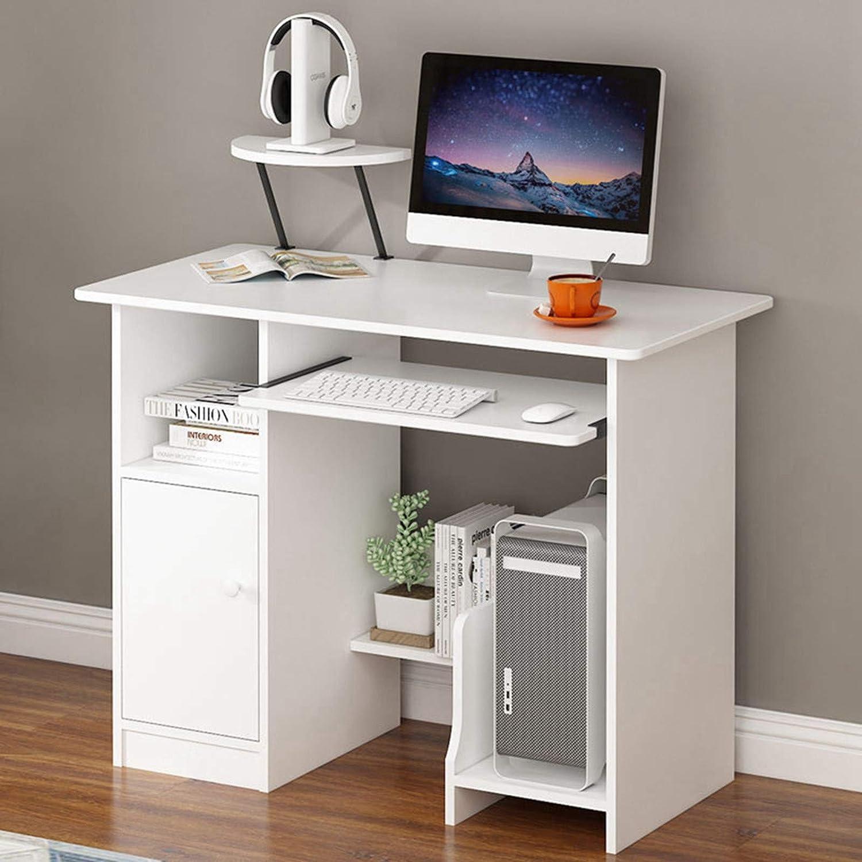 Flsofot Home Office Desk Desktop Computer Desk