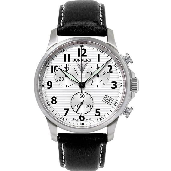 Junkers JU52 Chrono 6890-1 Reloj elegante para hombres Reloj Aeronóautico: Amazon.es: Relojes