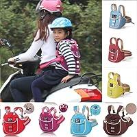 UxradG Baby Sicherheit Sicherheitsgurt, Sitz Displayschutzfolie Geschirr verstellbar, für Motorrad Auto Elektro Fahrzeug Fahrrad