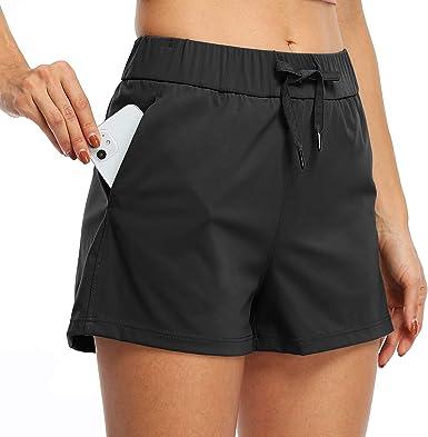 Willit Womens Yoga Lounge Shorts Comfy Active Running Shorts Casual Workout Hiking Shorts Pockets 2.5