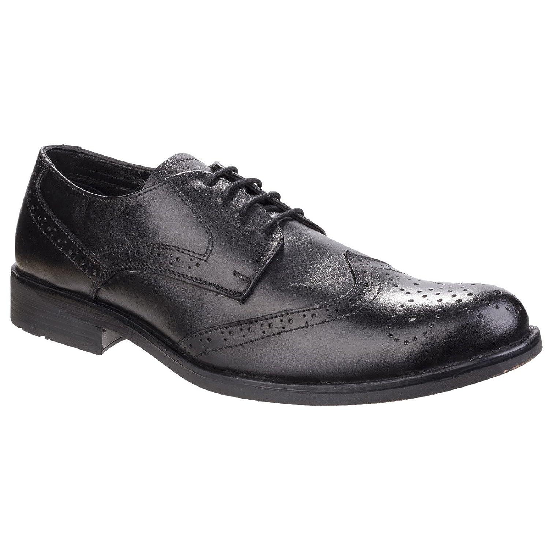 Fleet & Foster Hombre Tom Cordones Zapatos Calzado Casual Zapatillas Deporte Negro 46 12|Black