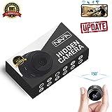 Hidden Camera WiFi Mini Spy Camera NAFA Small Wireless Nanny Cam [2019 Updated] 1080P HD Audio Motion Detection Loop Recording Security Camera