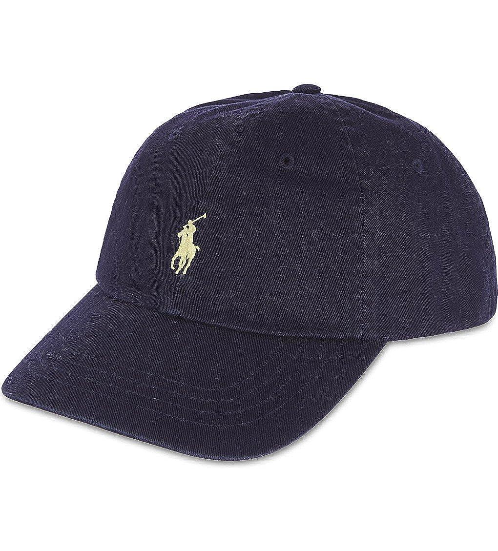 Polo Ralph Lauren Men s Classic Chino Sports Cap One Size Blue at Amazon  Men s Clothing store  Baseball Caps 90772f42d88