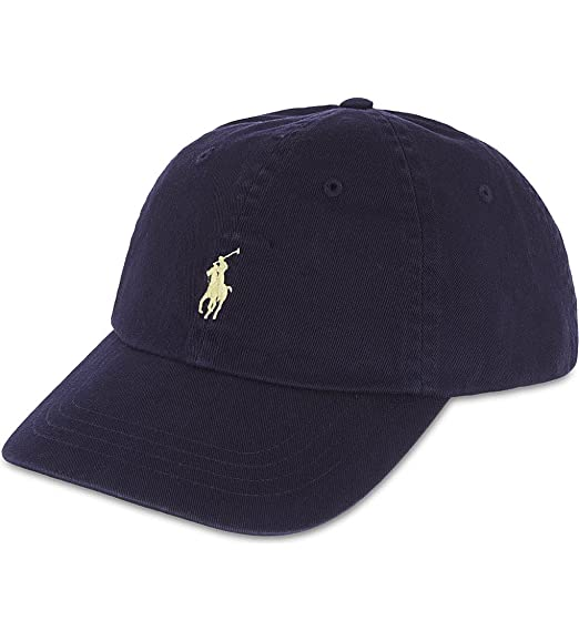 Polo Ralph Lauren Men s Classic Chino Sports Cap One Size Blue at ... 092067871e75