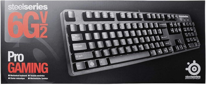 Steelseries 6 GV2 USB + PS/2 Azerty belga negro teclado ...