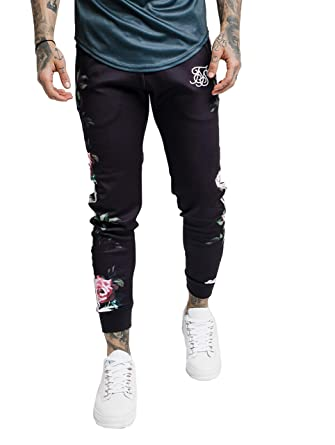 Sik Silk Hombres Pantalones Deportivos Oil Paint Cuffed ...