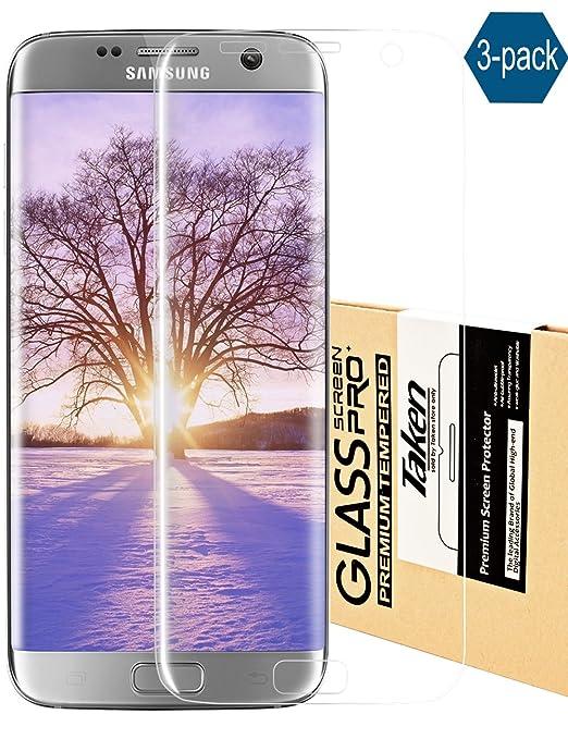 7 opinioni per Galaxy S7Edge Pellicola Ultra Clear Pellicola Proteggi Schermo, Presa [3-Pack]