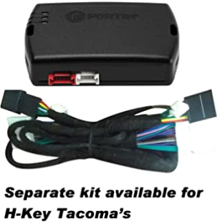 start-x toyota tacoma push to start remote starter kit with t-harness 2016