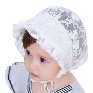 Bons prix comment acheter les clients d'abord Tyidalin Bonnet Bébé Fille été Chapeau de Soleil Anti UV ...