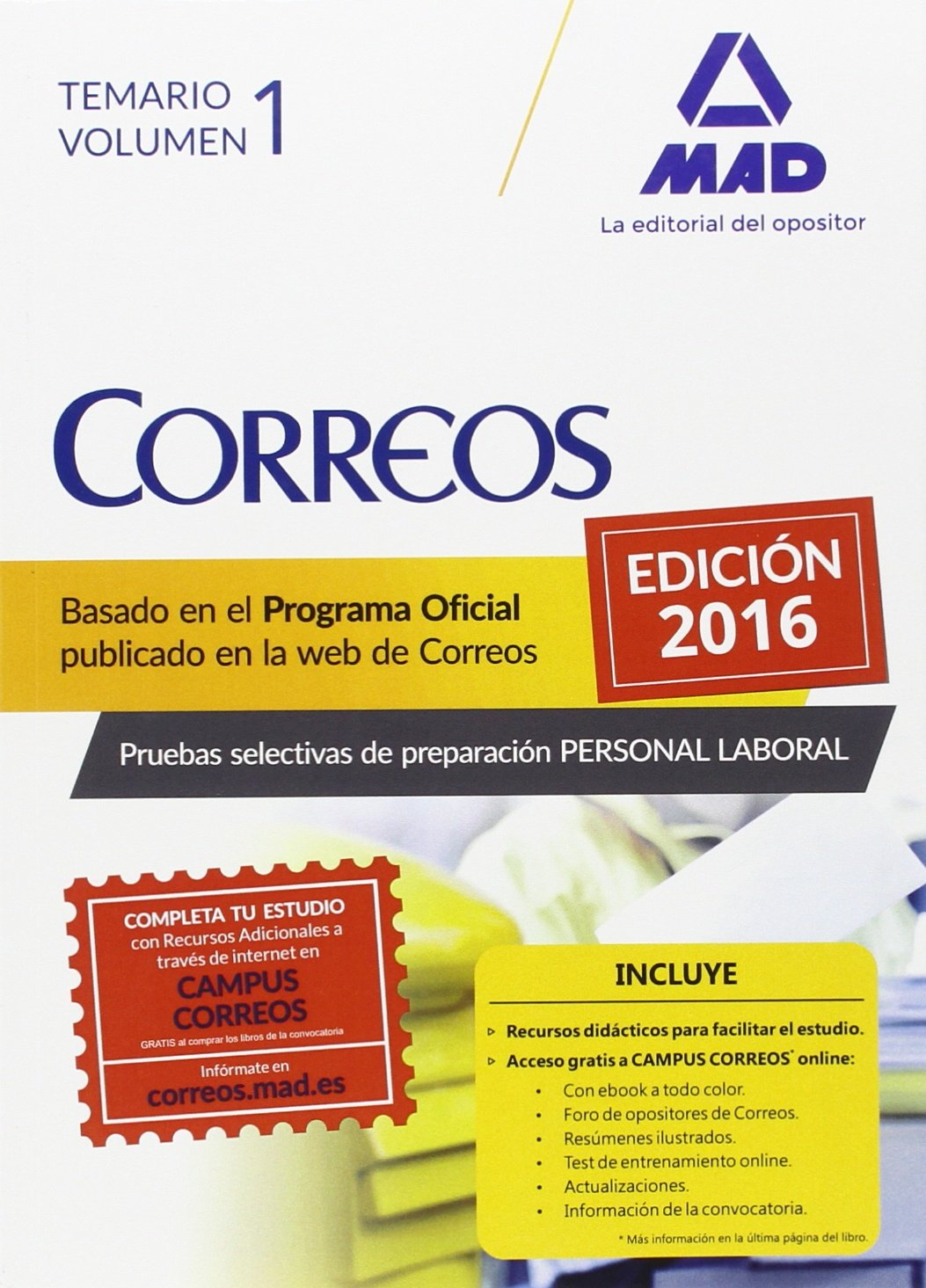 Personal Laboral de Correos y Telégrafos.: 1: Amazon.es: GUILLEN GIL, LUIS IGNACIO, FORUM DE CATALUNYA, S.R.L.: Libros