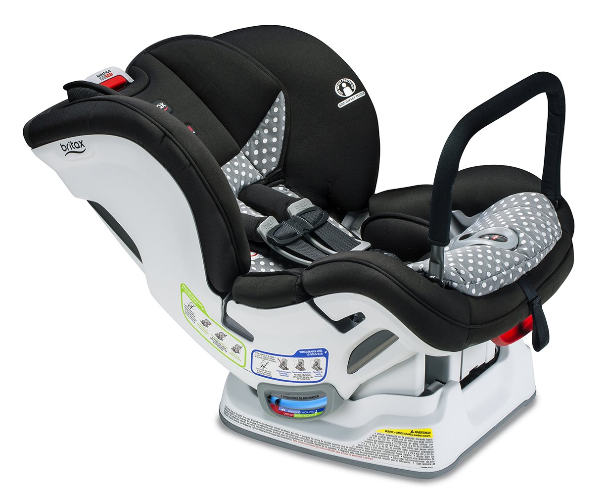 Britax Marathon Click Tight Anti Rebound Bar Convertible Car Seat, Ollie by Britax Usa