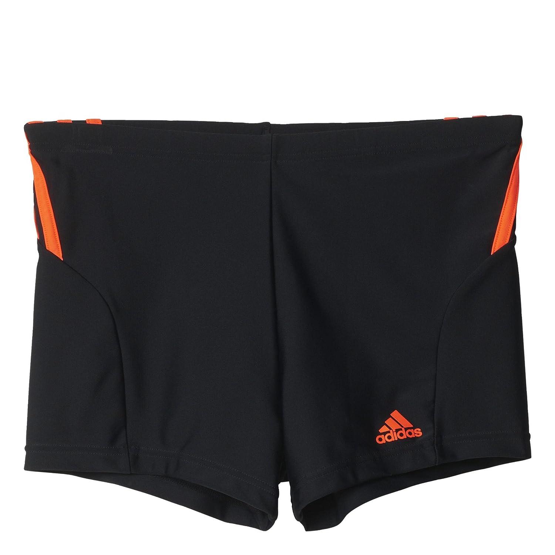 868455646f Amazon.com: adidas Performance Mens 3 Stripe Swimming Boxer Trunks - 32  Black: Clothing