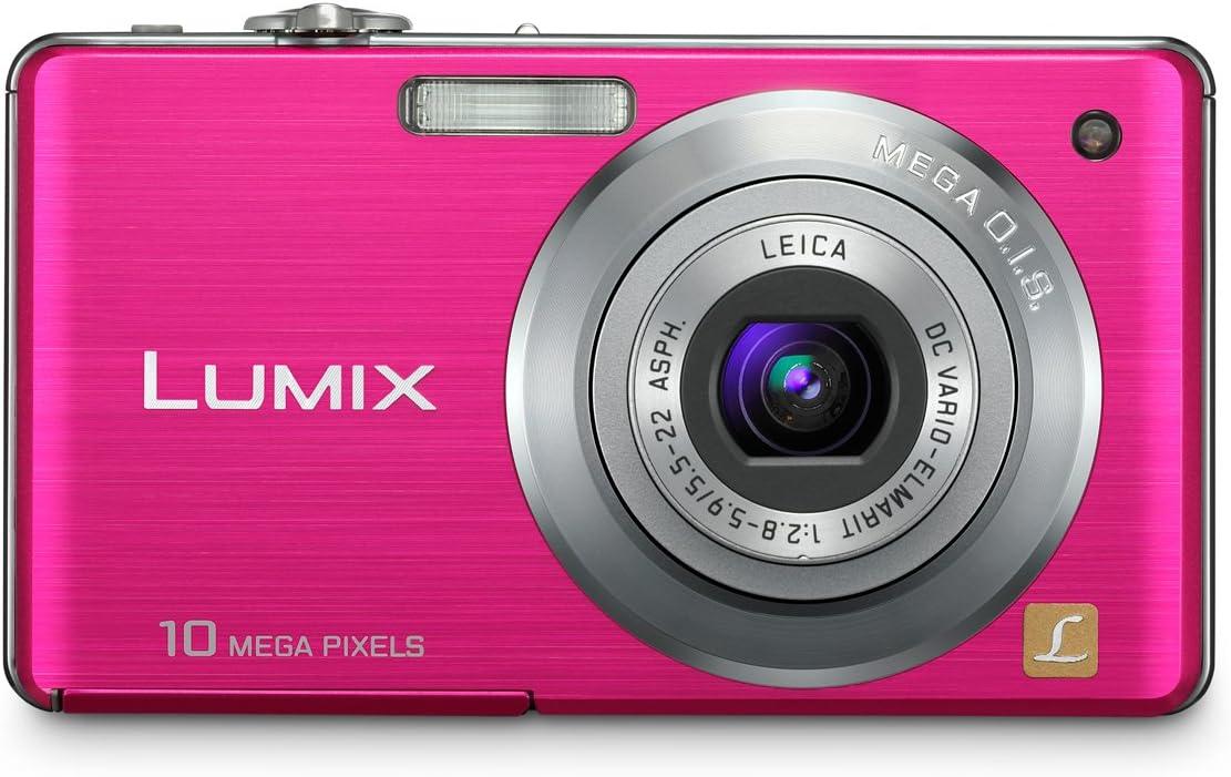 Panasonic Lumix Dmc Fs7 Digitalkamera 2 7 Zoll Rosa Kamera
