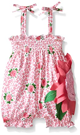 badde6cadf2a Amazon.com  Mud Pie Baby Girl One Piece Bubble  Clothing