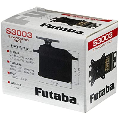 Futaba S3003 Standard Servo: Toys & Games