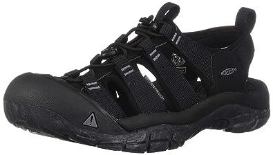 398c7cded044 Keen Men s Newport H2 Water Shoe Black Swirl Outsole 7 M US
