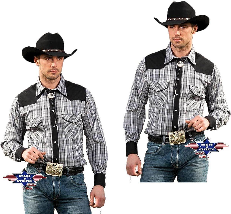 STARS & STRIPES - Camisa casual - para hombre gris medium: Amazon.es: Ropa y accesorios