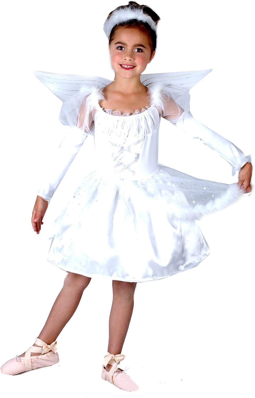Disfraz de ángel para niña: Amazon.es: Juguetes y juegos