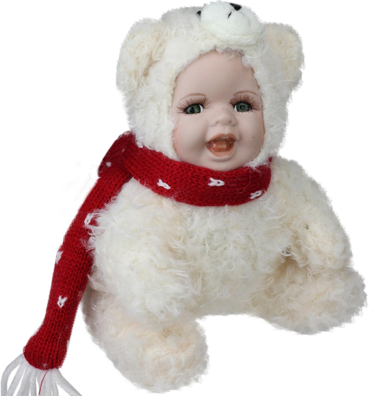 Northlight Porcelana bebé en Disfraz de Oso Polar de Navidad ...