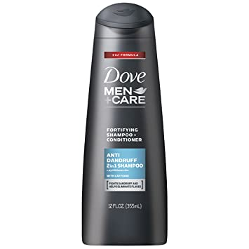 Dove Men + Care 2 in 1 Shampoo, Anti Dandruff 12 Ounce