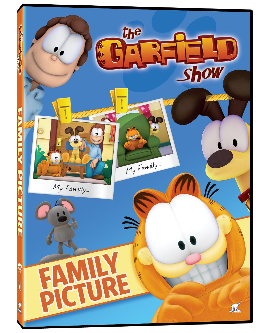 The Garfield Show - Family Picture (Bilingual) Frank Welker Greg Berg Philippe Vidal Phase 4