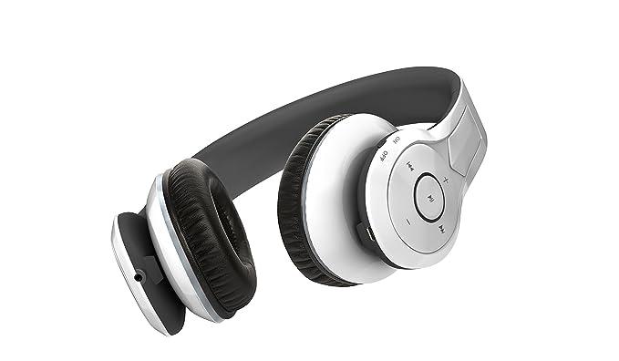 Neojdx Venice 2 Auriculares Estéreo Bluetooth 4.0 Inalámbricos con Micrófono, Aislamiento de Ruido para Dispositivos