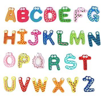 Ularma Lindo Juguetes educativos de bebé colorido lindo 26 letras ...