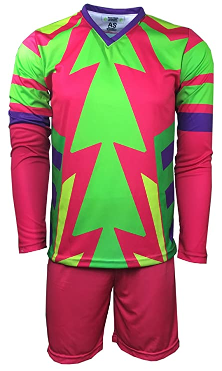 Brody Jorge Campos Goalkeeper Set Jersey and Shorts (Adult 2-Extra-Large)