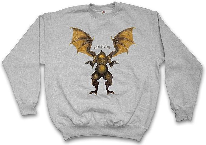 Cthulhu XVI Sudadera para Hombre Sweatshirt Pullover - Ruf Worship Obey Great Old One Tamaños S - 5XL: Amazon.es: Ropa y accesorios