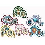 Nuby ID5498 Bamboo Set Svezzamento, Multicolore, Modelli assortiti, 1 pz