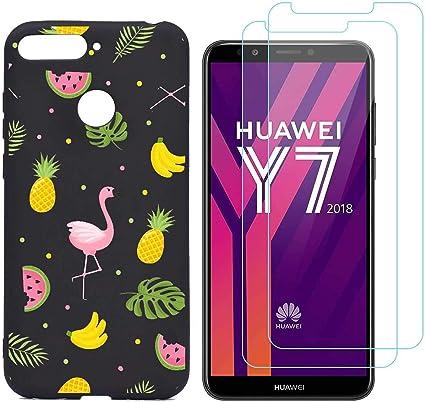 kaliter Funda Huawei Honor 7C Case,Modelo h20 Suave TPU Gel ...