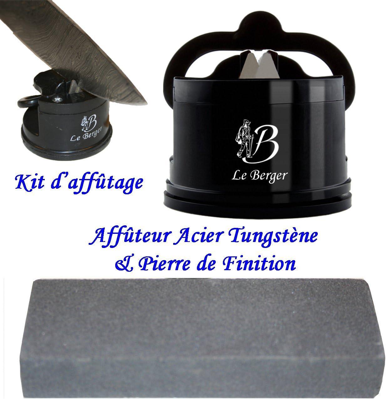 Kit de Afilado afilador–afilador el Pastor generación & Piedra de afilar Dulce de Acabado para una Copa afeitadora