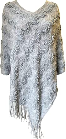 Central Chic Poncho Femme